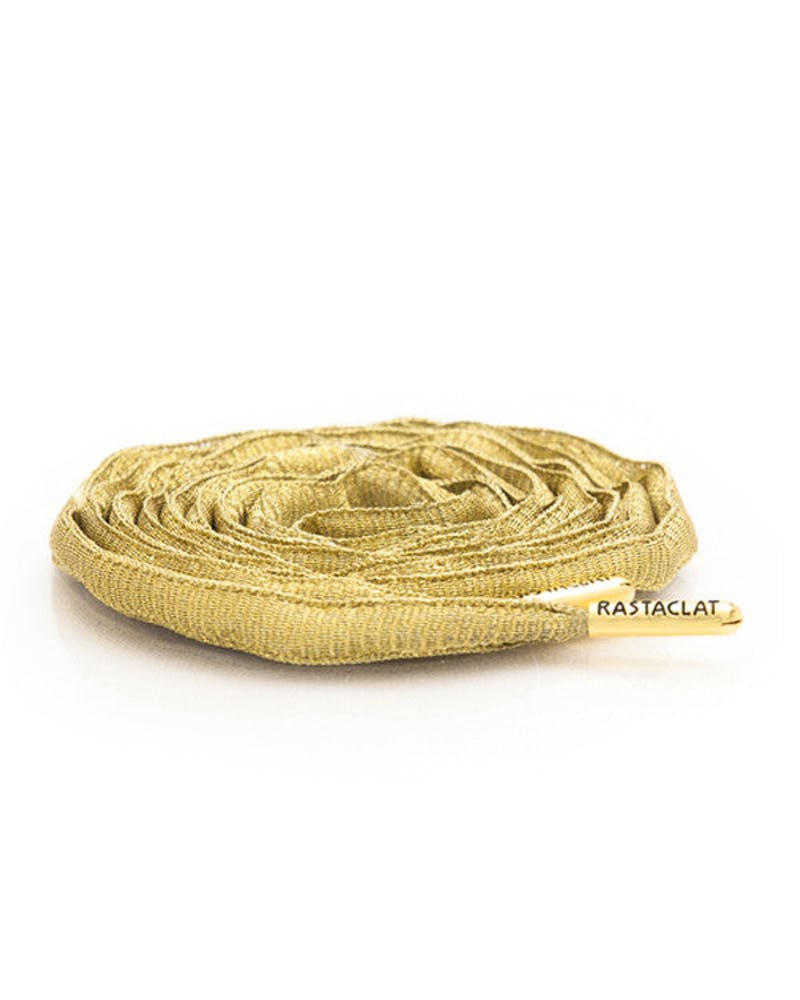 Rastaclat Oval Shoelace Gold