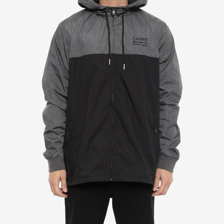 Latitude Colourblock Jacket Black/charcoal