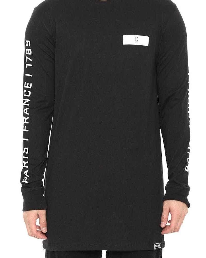 Longitude Capone 2 Long Sleeve Tee Black
