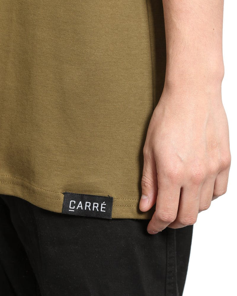 Boxed Off Terreux Tee Olive