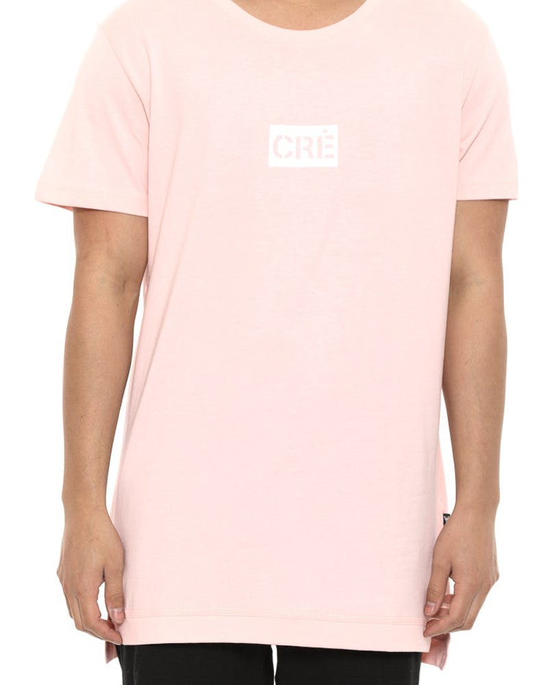 Division Statique Short Sleeve Tee Pink