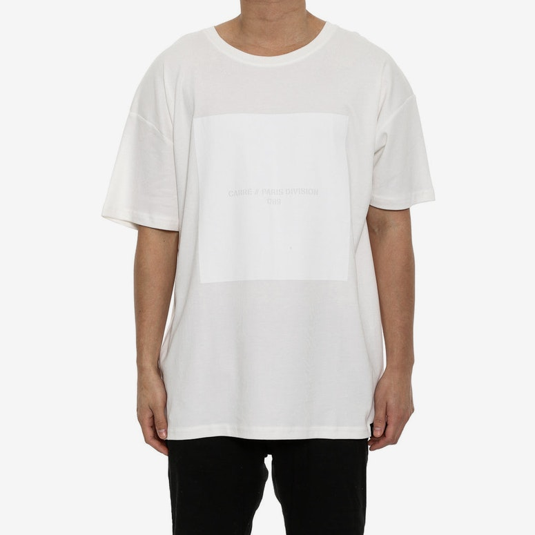 Boxed Off Terreux Tee White
