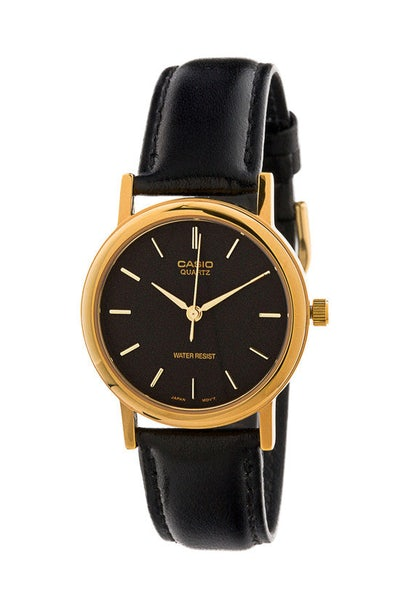 Mtp1095q Gents Analog Black/gold/blac