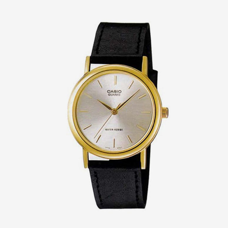 Mtp1095q Gents Analog Black/gold