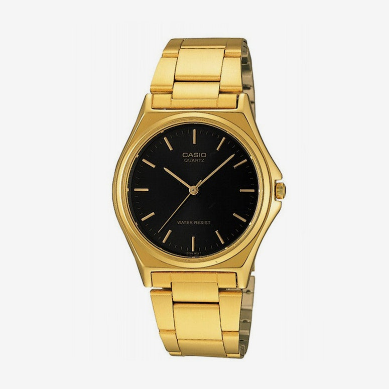 Gents Analog Gold/black