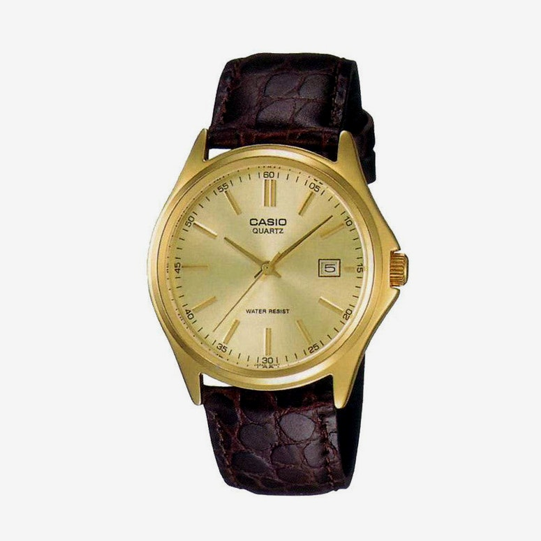 Mtp1183q Gents Analog Brown/gold