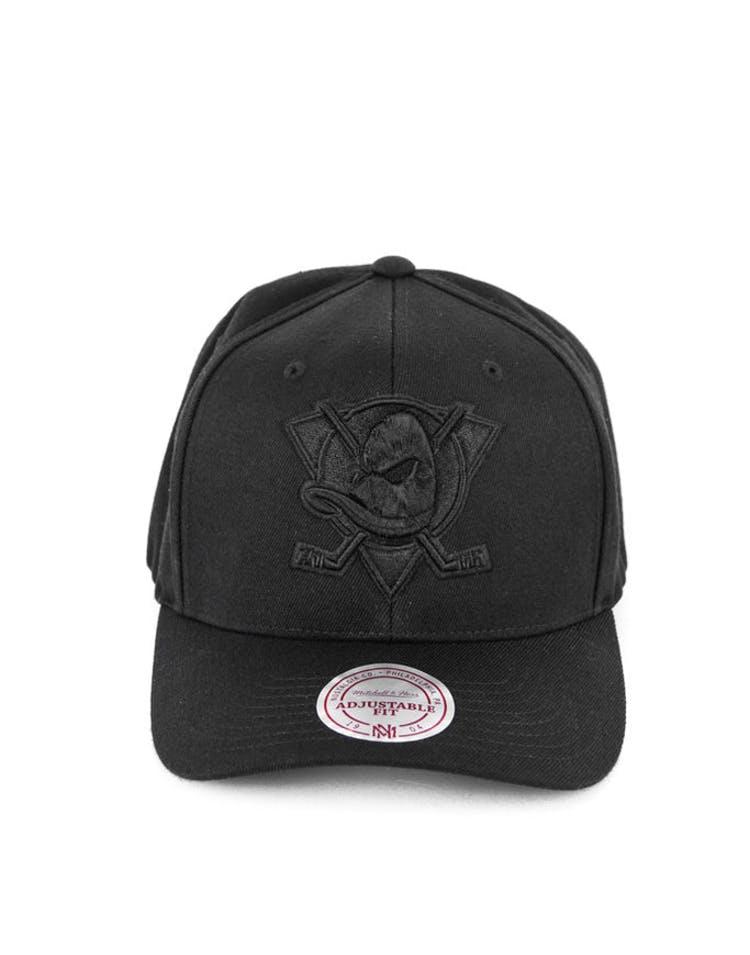 d727ce65 Mitchell & Ness Ducks 110 Snapback Black/black – Culture Kings