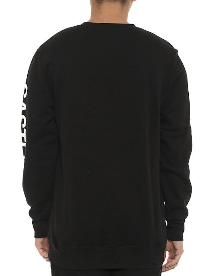 C&c Fleece Crew Black