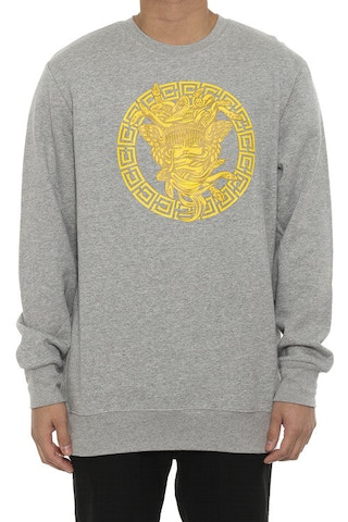 Metal Medusa Crew Grey