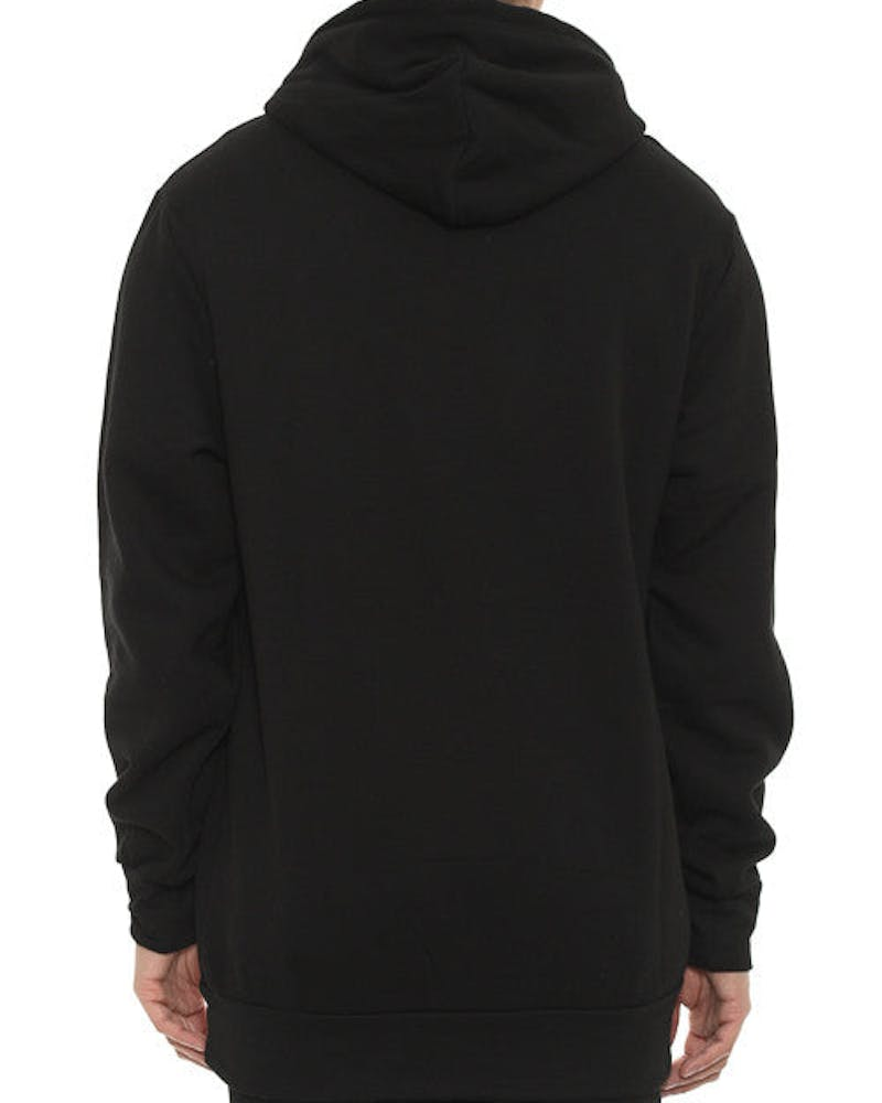 Tiger Speckle Logo Hood Black