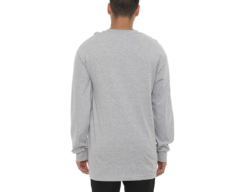 Wild Medusa Long Sleeve Tee Grey