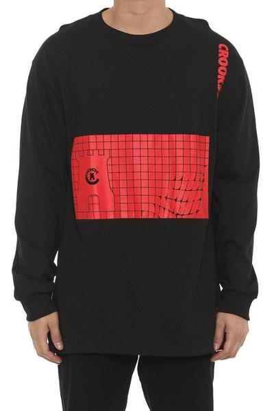 Bombay Long Sleeve Top Black