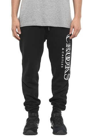 Ballin Mane Sweat Pants Black
