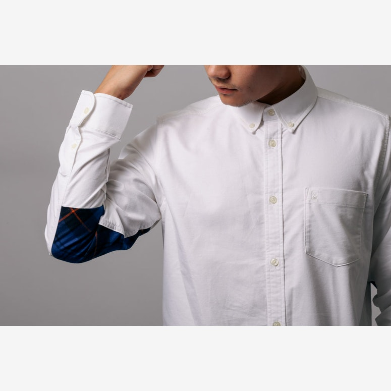 Long Sleeve Buster Shirt White