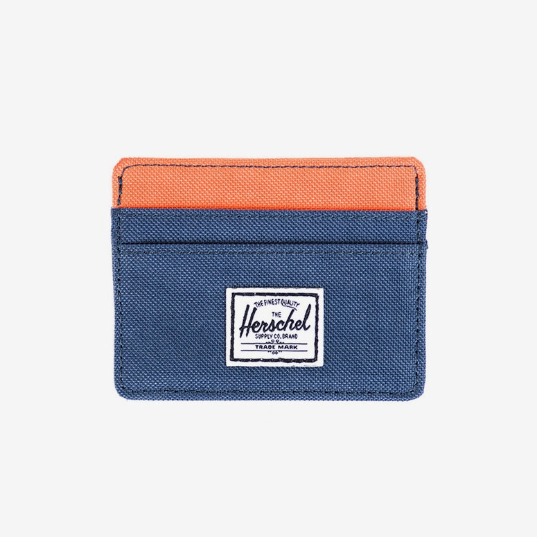 Charlie Wallet Navy/orange