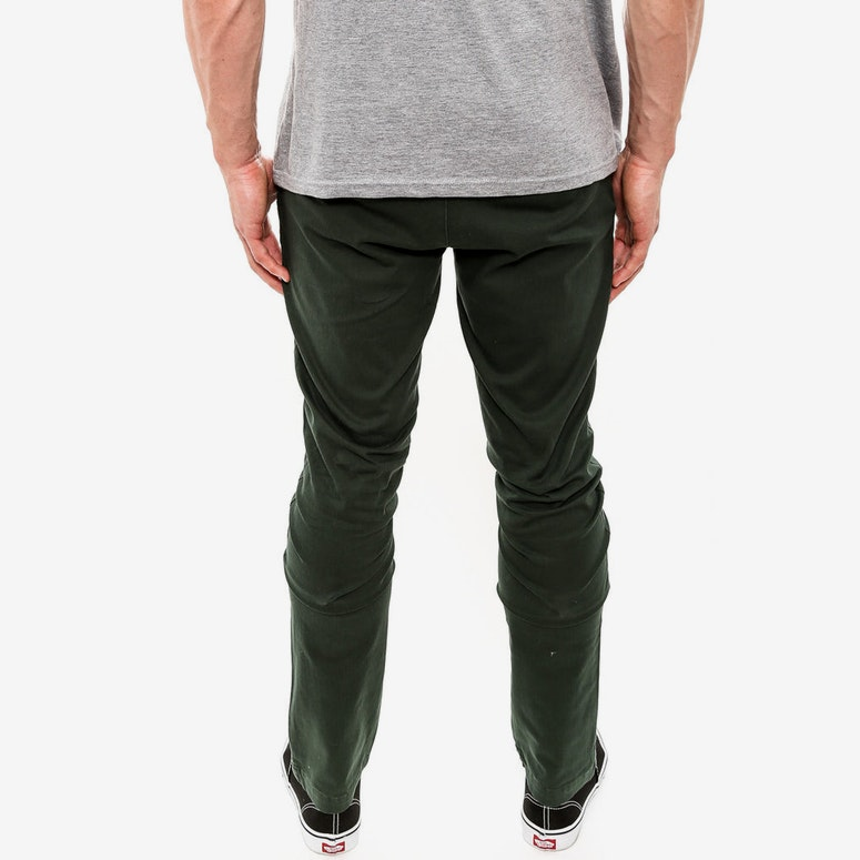 Parkes Pant Olive/brown