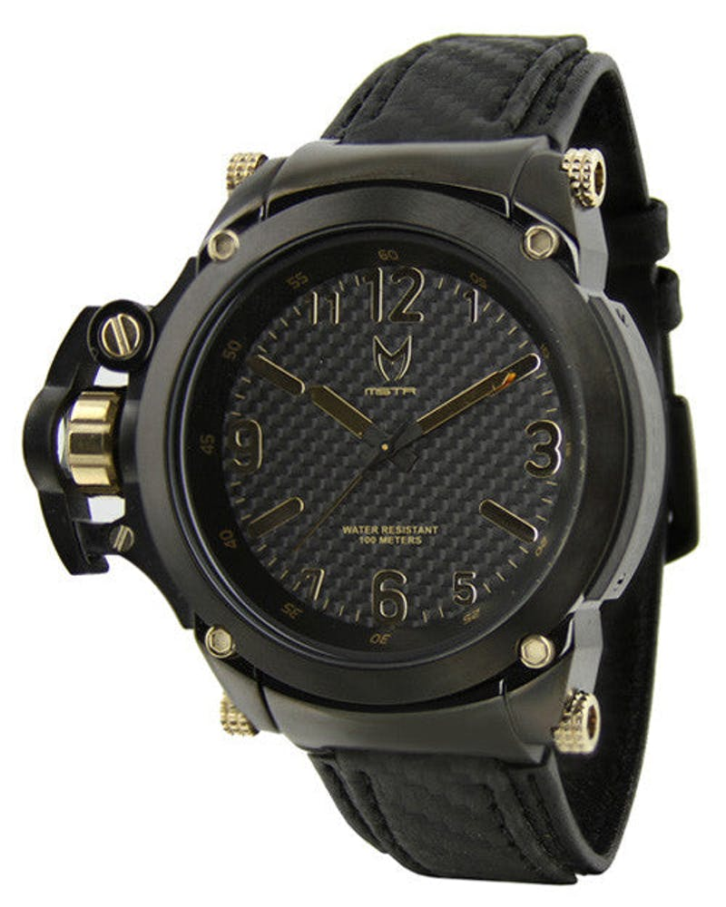Commander Carbon Fibre Black/gold
