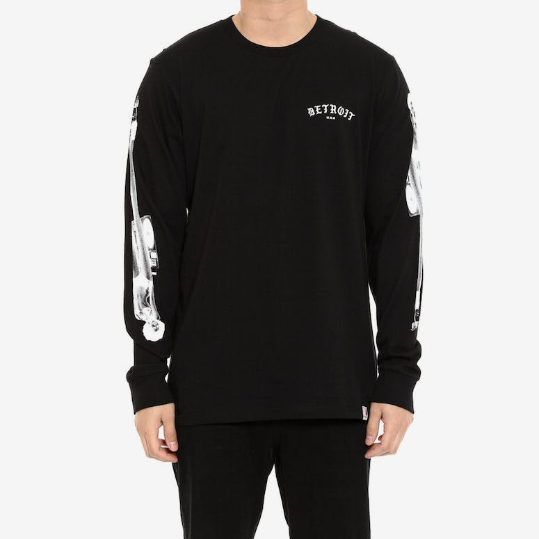 Mmc Detroit Soul Skate Long Sleeve Tee Black/white
