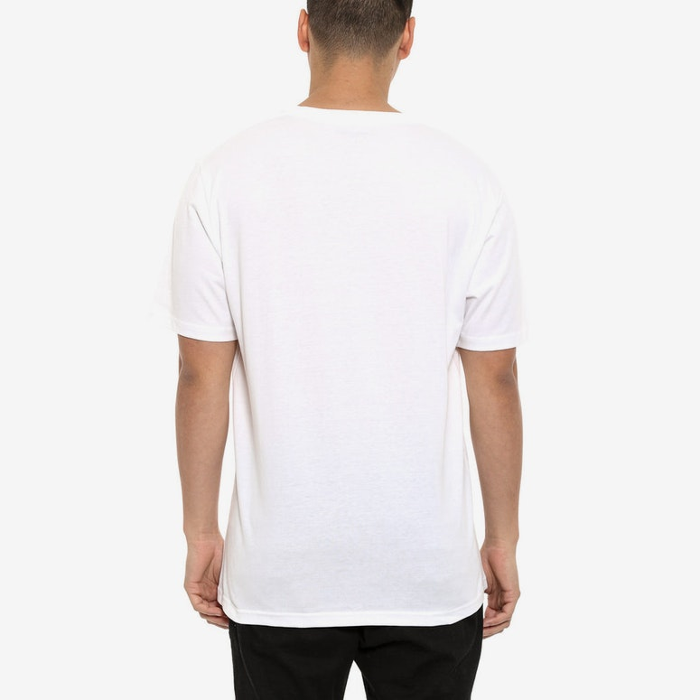 Wip Script Short Sleeve Shirt White/black