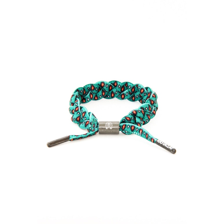 Rastaclat Bracelet Teal/orange/bla
