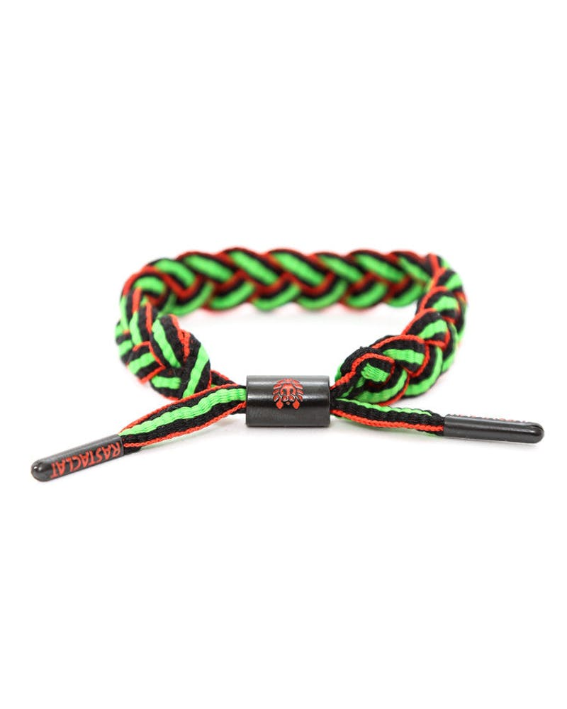 Rastaclat Bracelet Green/black/red