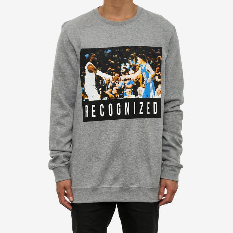 Recognized 4 Long Sleeve CR Grey