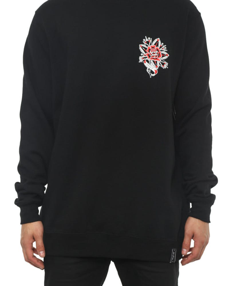 Rgf X ML Rose Crewneck Black