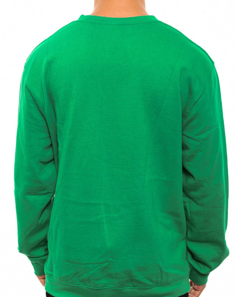 New York Jets Crewneck Green/white