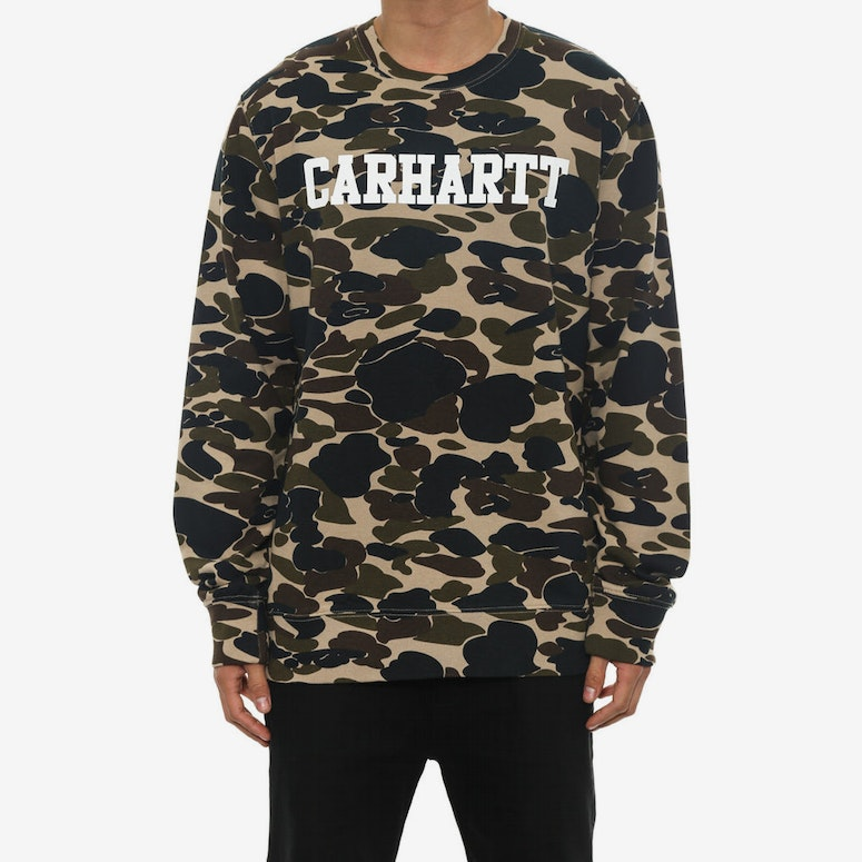 Allover Crew Camo/white