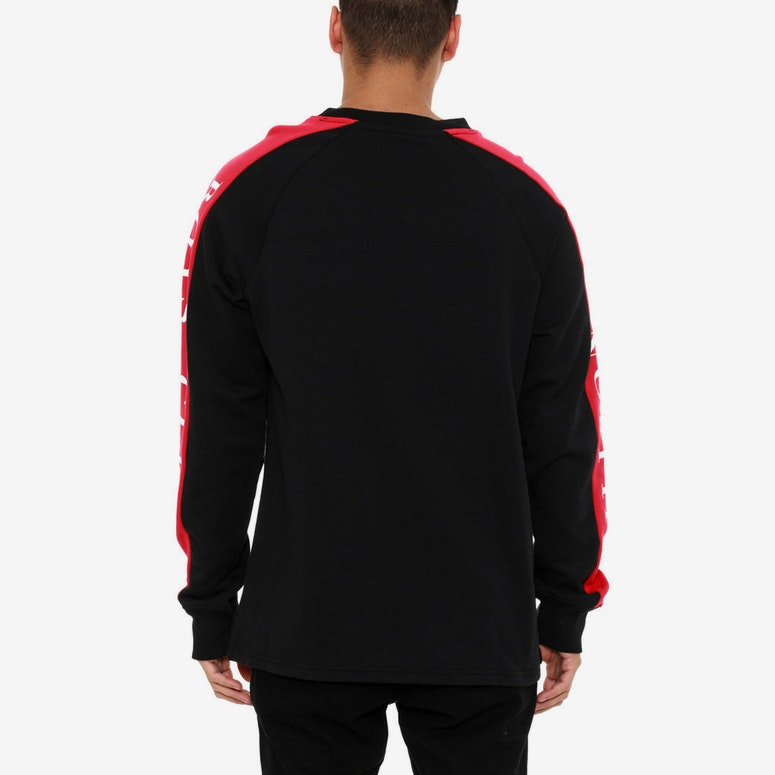 Approach + Landing Crew Black/red
