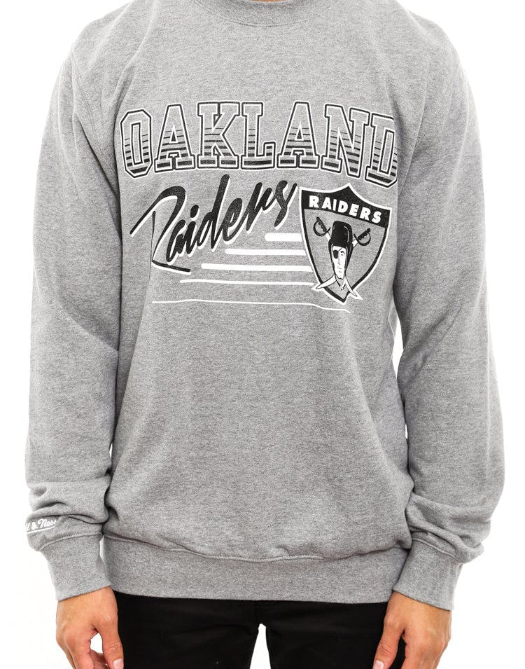 Oakland Raiders Crewneck Grey