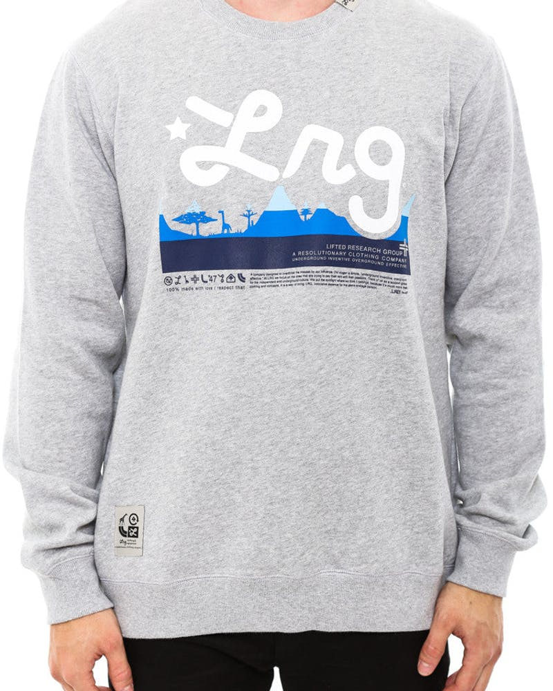 Core Collection Crewneck Heather Grey/re