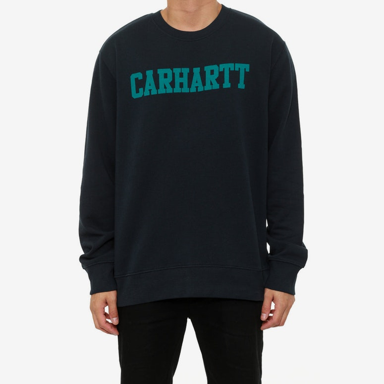 College Crew Navy/teal