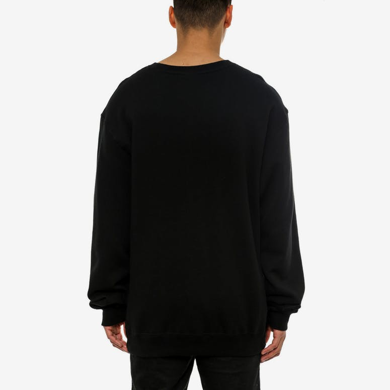 Entourage Long Sleeve Crew Black