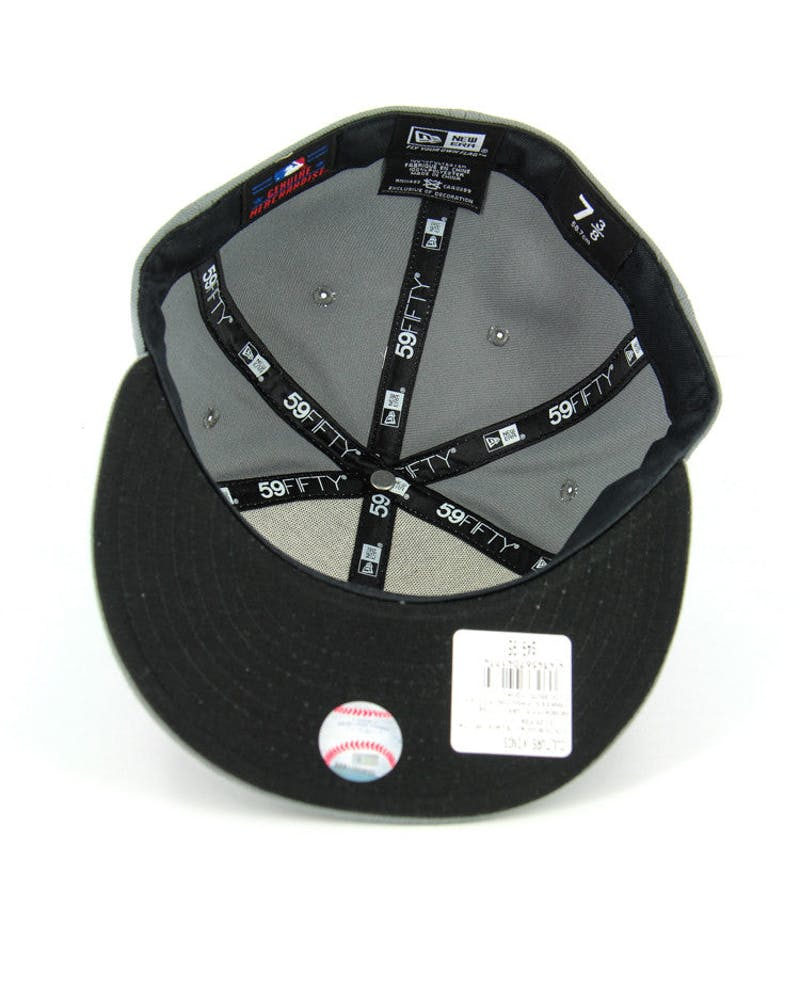 Dodgers Fashion Fitted Grey/black/whit
