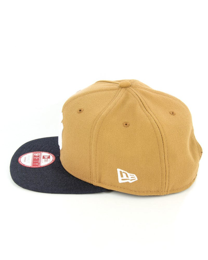 Tigers Original Fit Snapback Wheat/navy/whit