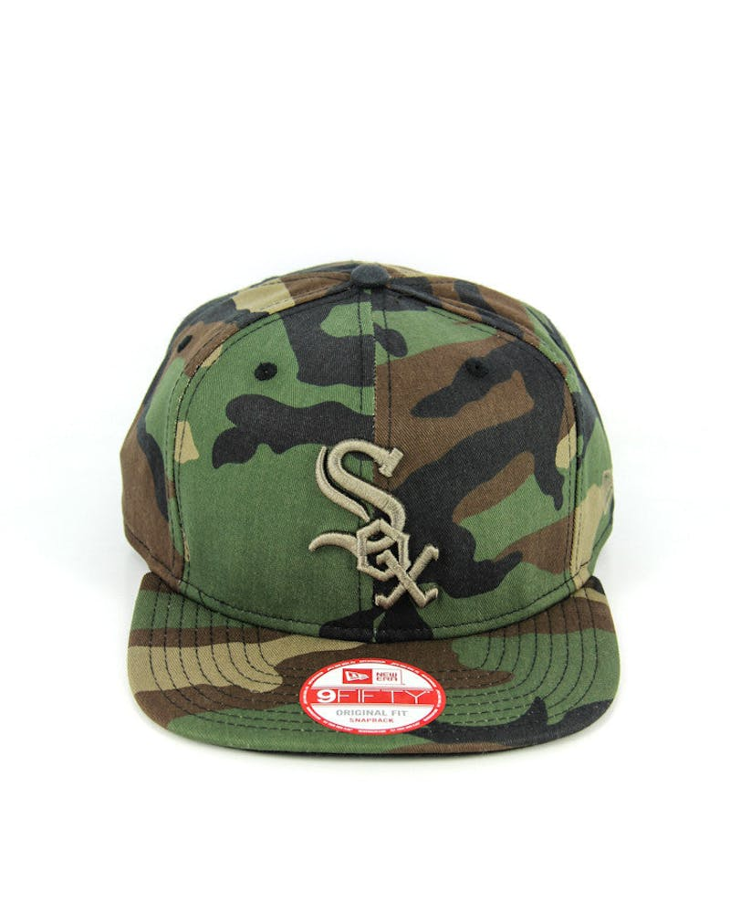 White Sox Orig. Fit Snapback Camo/gold
