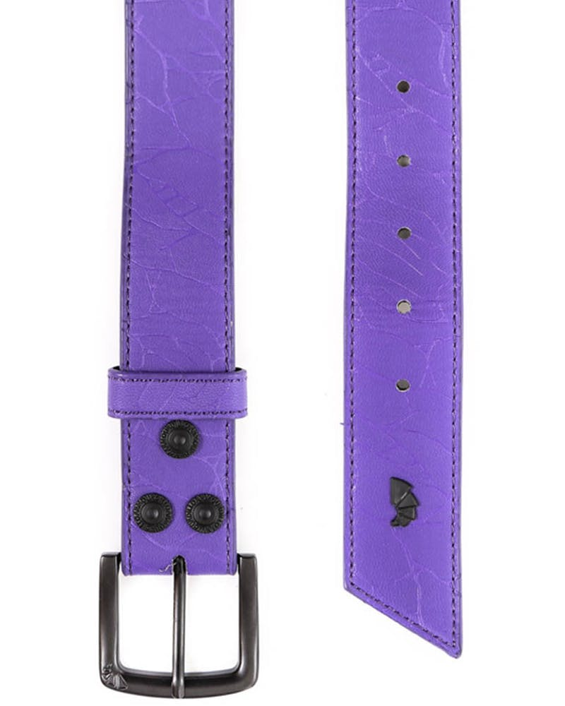 Crackle Belt Purple