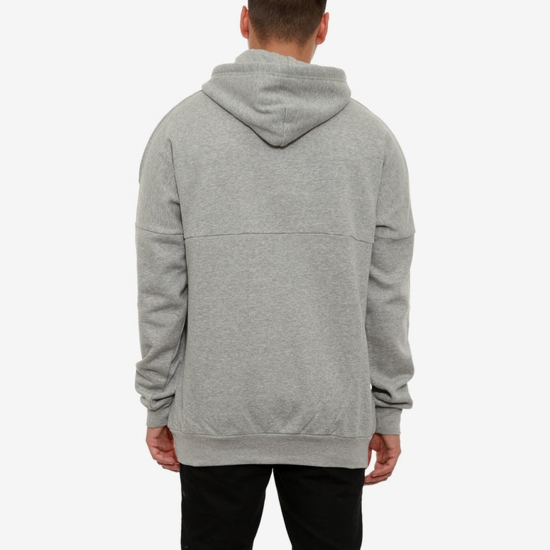 Cocaine Dolman Hood Grey/black