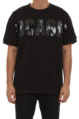 Cocaine Short Sleeve Crew Black/black