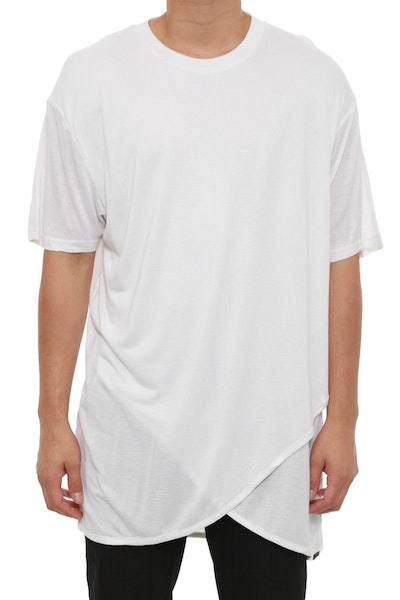 Status Layered Tee White