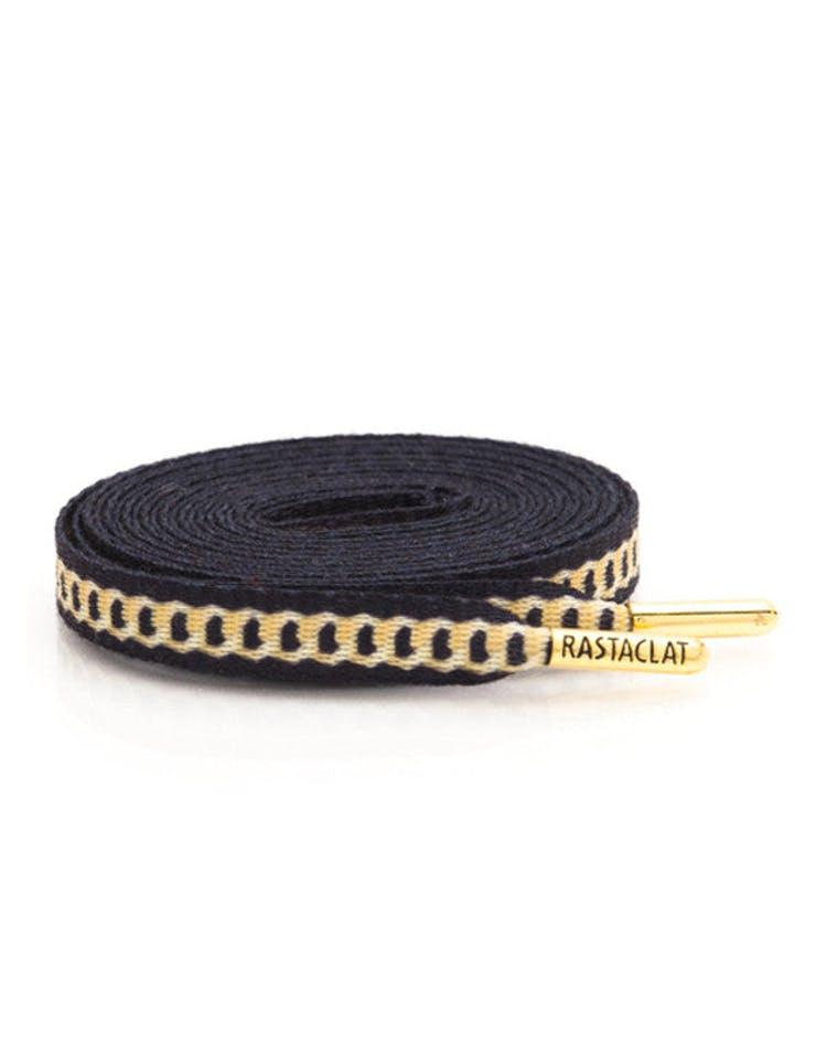 e3a57de40c75b Rastaclat Flat Shoelace Black/gold
