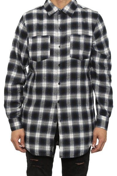 Regime Flannel Button up Navy