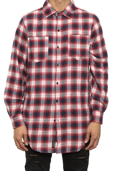 Regime Flannel Button up Red