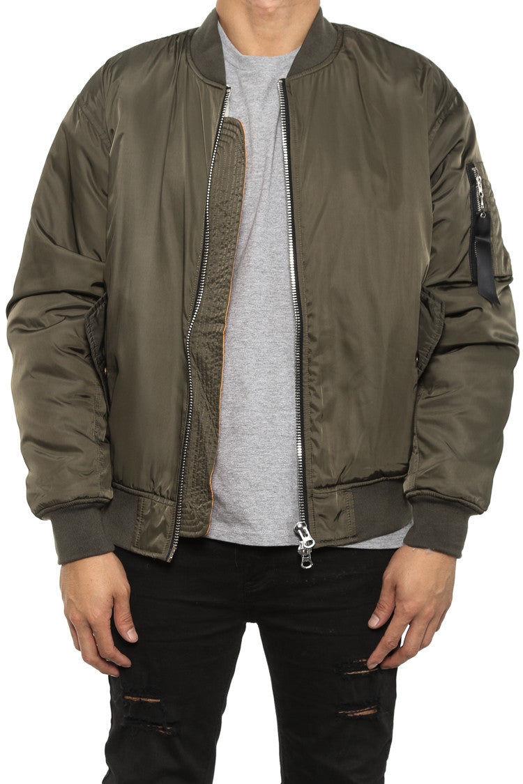 Nike MA 1 custom bomber jacket