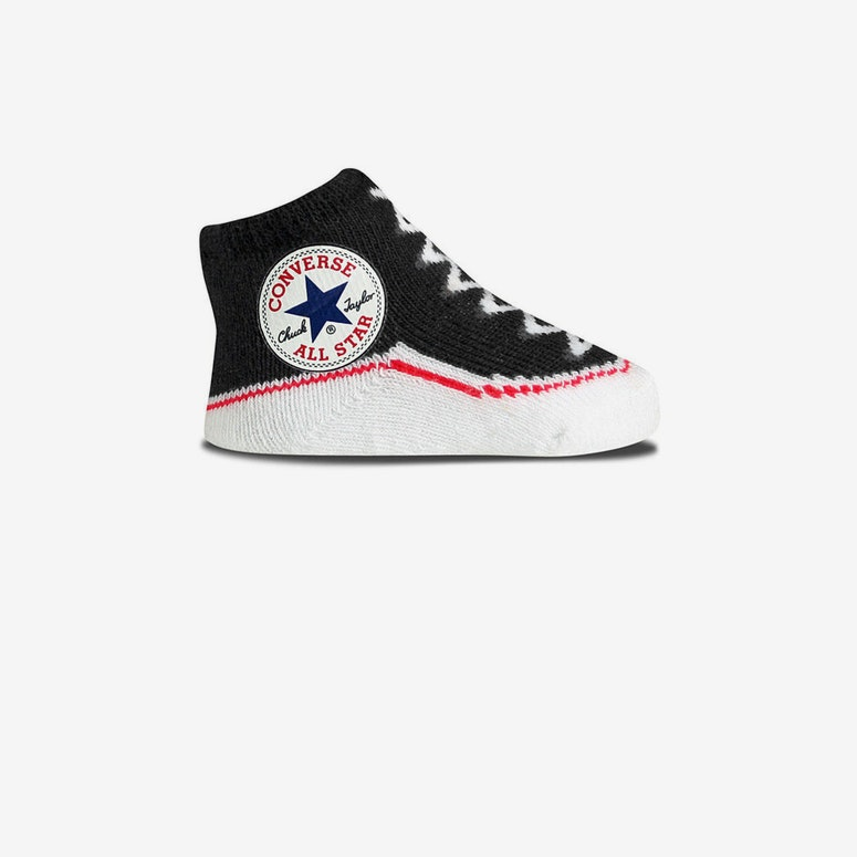 Chuck Taylor Knit Booties Black