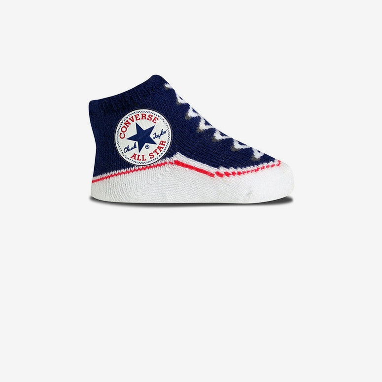 Chuck Taylor Knit Booties Navy
