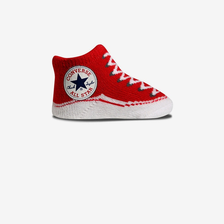 Chuck Taylor Knit Booties Red