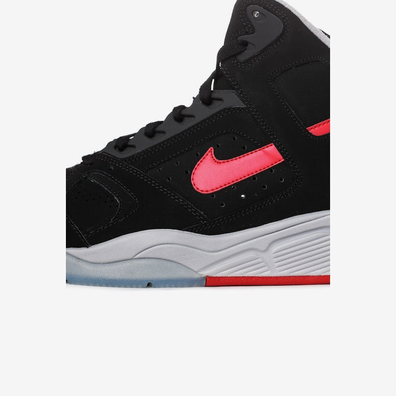 Air Flight Lite High Black/red/grey