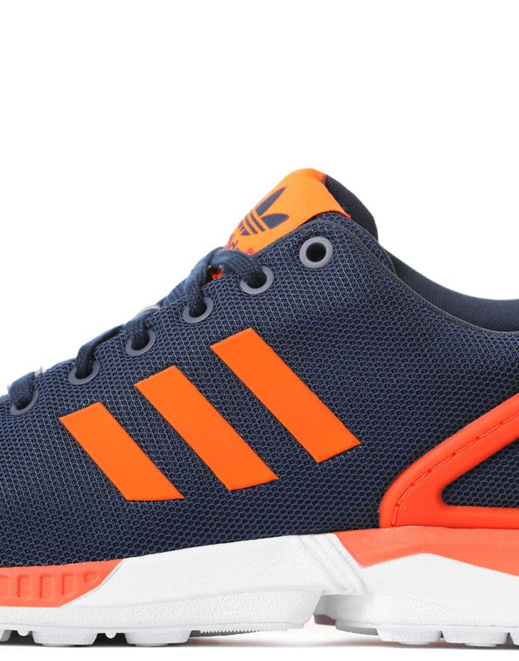 sports shoes 6be41 58083 ZX Flux Blue/red/orange